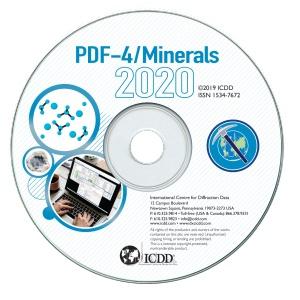 PDF-4 2020 矿物衍射数据库